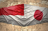 Japan and Indonesia — Stock Photo
