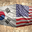 United States of Americand South Korea — Stock Photo #36788397