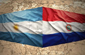 Paraguay and Argentina — Stock Photo