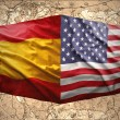 United States of America and Spain — Stock Photo