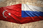 Rusia y turquía — Foto de Stock