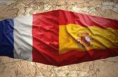 франция и испания — Стоковое фото