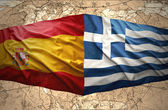 Greece and Spain — Stock Photo