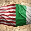 Ireland and USA — Stock Photo