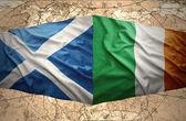 Ireland and Scotland — Stock Photo