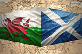 Scotland and Wales — Stock Photo