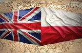 Poland and United Kingdom — Stock Photo