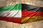 Iran and Germany — Stock Photo