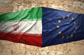 Iran and European Union — Stock Photo