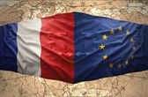 France and European Union — Stock Photo