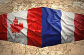 France and Canada — Stock Photo