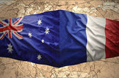 France and Australia — Stock Photo