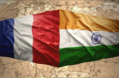 France and India — Stock Photo