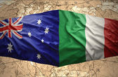 Italy and Australia — Stock Photo