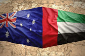 United Arab Emirates and Australia — Stock Photo