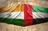United Arab Emirates and India — Stock Photo
