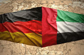 United Arab Emirates and Germany — Stock Photo
