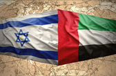 United Arab Emirates and Israel — Stock Photo
