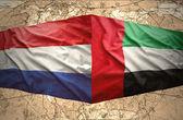 United Arab Emirates and Netherlands — Stock Photo
