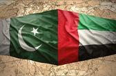 United Arab Emirates and Pakistan — Stock Photo