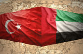 United Arab Emirates and Turkey — Stock Photo