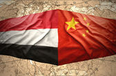Yemen and China — Stock Photo