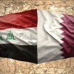 Постер, плакат: Qatar and Iraq