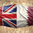 Stock Photo: Qatar and United Kingdom
