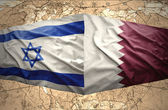 Qatar and Israeli — Stock Photo
