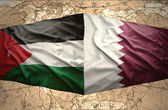 Qatar and Jordan — Stock Photo