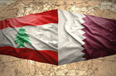Qatar and Lebanon — Stock Photo