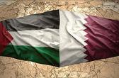 Qatar and Palestine — Stock Photo