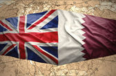 Qatar and United Kingdom — Stock Photo
