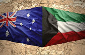 Kuwait and Australia — Stock Photo