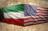 Kuwait and United States of America — Stock Photo