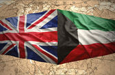 Kuwait and United Kingdom — Stock Photo