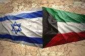 Kuwait and Israel — Stock Photo