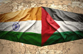 Palestine and India — Stock Photo