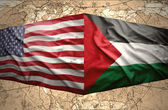 Palestine and United States of America — Stock Photo