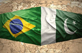 Pakistan and Brazil — Stock Photo