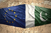 Pakistan and European Union — Stock Photo