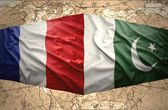 Pakistan and France — Stock Photo