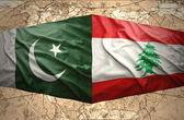 Pakistan and Lebanon — Stock Photo