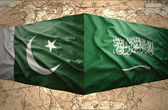 Pakistan and Saudi Arabia — Stock Photo