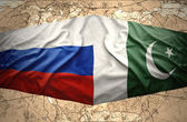 Pakistan and Russia — Stock Photo