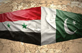 Pakistan and Syria — Stock Photo