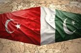 Pakistan and Turkey — Stock Photo