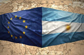 Argentina and European Union — Stock Photo