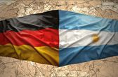 Argentina and Germany — Stock Photo