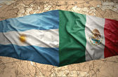 Argentina and Mexico — Stock Photo